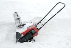 Snowblower Stock Images