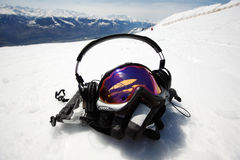snowboard маски Стоковое фото RF