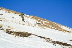 snowboard наклона горы freeride cheget Стоковая Фотография RF