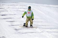 snowboard России чемпионата стоковая фотография rf