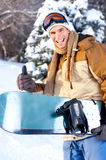 Snowboard Royalty Free Stock Photography