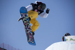 Snowboard Stock Foto
