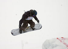 Snowboard 24. Snowboard cup at the zabljak in montenegro Royalty Free Stock Photo