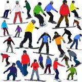 Snowboard illustrazione vettoriale