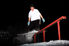 Snowboard stockfotos