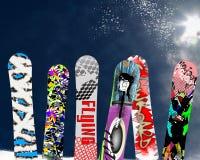 Snowboard Royaltyfri Bild