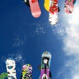 Snowboard Arkivfoton