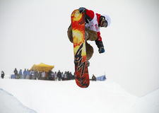 Snowboard Arkivbild