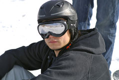 Snowboard stock foto's