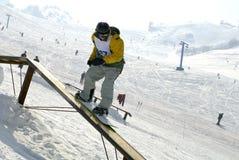 Snowboard Fotos de archivo libres de regalías