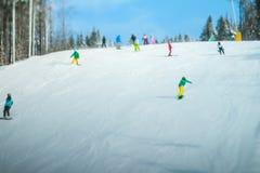 snowboard Royaltyfria Foton