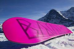 snowboard Arkivfoto