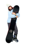 Snowboard Royalty Free Stock Photo