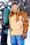 Snowboard stock afbeelding