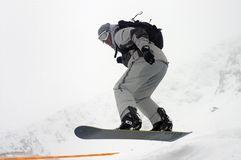 Snowboard 8 Royalty Free Stock Images