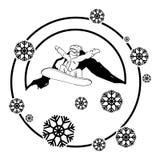Snowboard athlete with mountain scene. Vector illustration design vector illustration