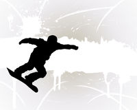 Snowboard background Royalty Free Stock Photography