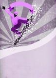 Snowboard background Royalty Free Stock Photo