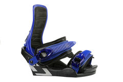 Snowboard binding isolated Royalty Free Stock Photos