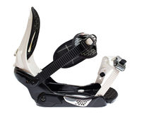 Snowboard binding isolated Stock Images