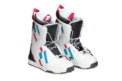 Snowboard boots Stock Photography