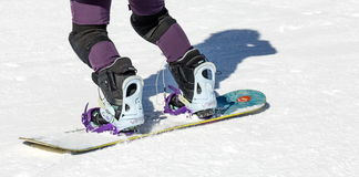 Snowboard. Royalty Free Stock Photo