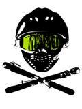 snowboard de 2 masques Photos stock