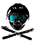 snowboard de 3 masques Photo libre de droits