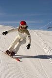 snowboard de fille images libres de droits