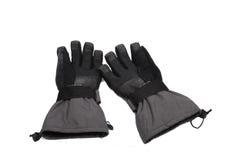 snowboard de paires de gants Images stock