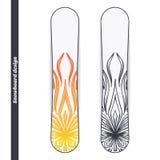 Snowboard Design Abstract Marijuana Stock Photos