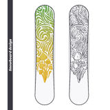 Snowboard Design Five Royalty Free Stock Image