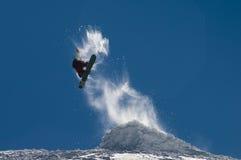 snowboard di stile libero Fotografie Stock Libere da Diritti