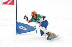 Snowboard European Cup Royalty Free Stock Photography