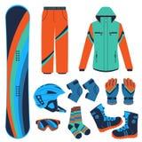 snowboard Extreme wintersporten Stock Fotografie