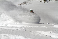 Snowboard freerider Zdjęcia Stock