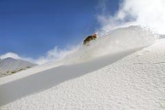 Snowboard freerider Royalty Free Stock Photo