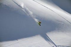 Snowboard freerider Stock Photography