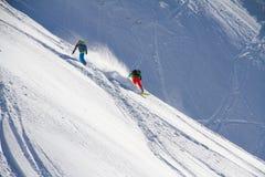 Snowboard freerider Stock Image