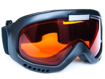 Snowboard glasses stock images