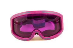 Snowboard glasses Royalty Free Stock Photo
