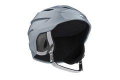 Snowboard helmet winter accessory Stock Photos