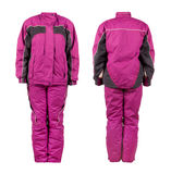 Snowboard jacket and pants Stock Photography