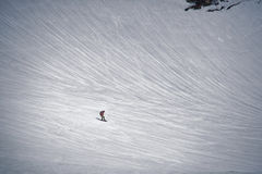 Snowboard in Japan Stock Photography