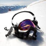Snowboard Mask Stock Image