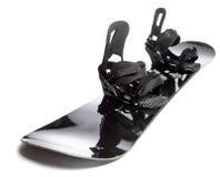 Snowboard med isolerade band Arkivfoton