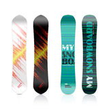 Snowboard projekt Obraz Stock