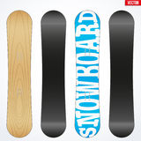 Snowboard sample symbols for design. Vector Royalty Free Stock Photography