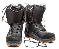 Snowboard shoes Royalty Free Stock Image