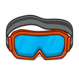 Snowboard ski goggles. Stock Photos